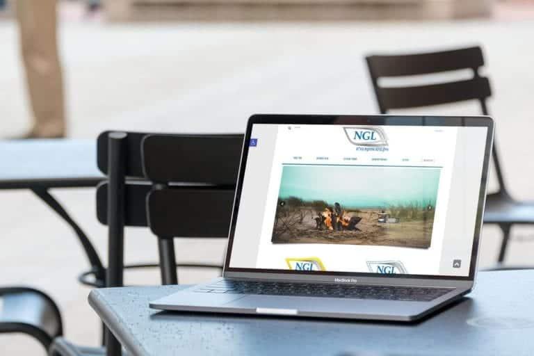 רקע בניית אתר אלפא אינטרנט | NGL LTD